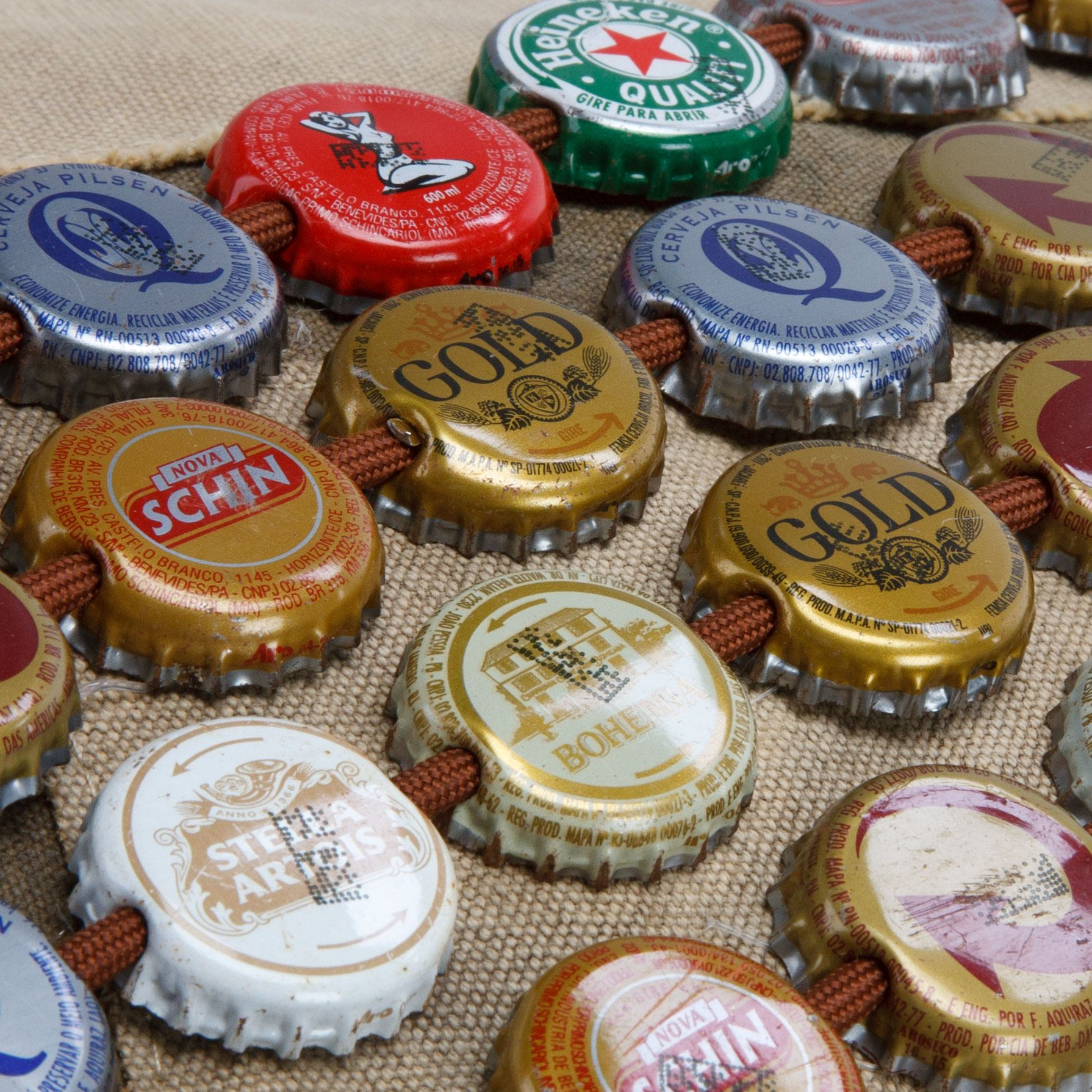 Beer Cap Hat Band - Brazilian Beer by The Real Deal: Made In Brazil