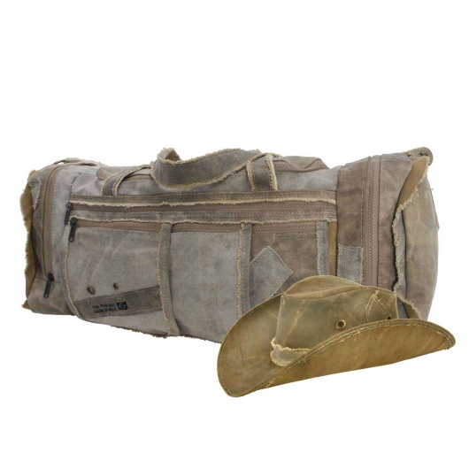Duffle & Hat Combo by The Real Deal: Made In Brazil