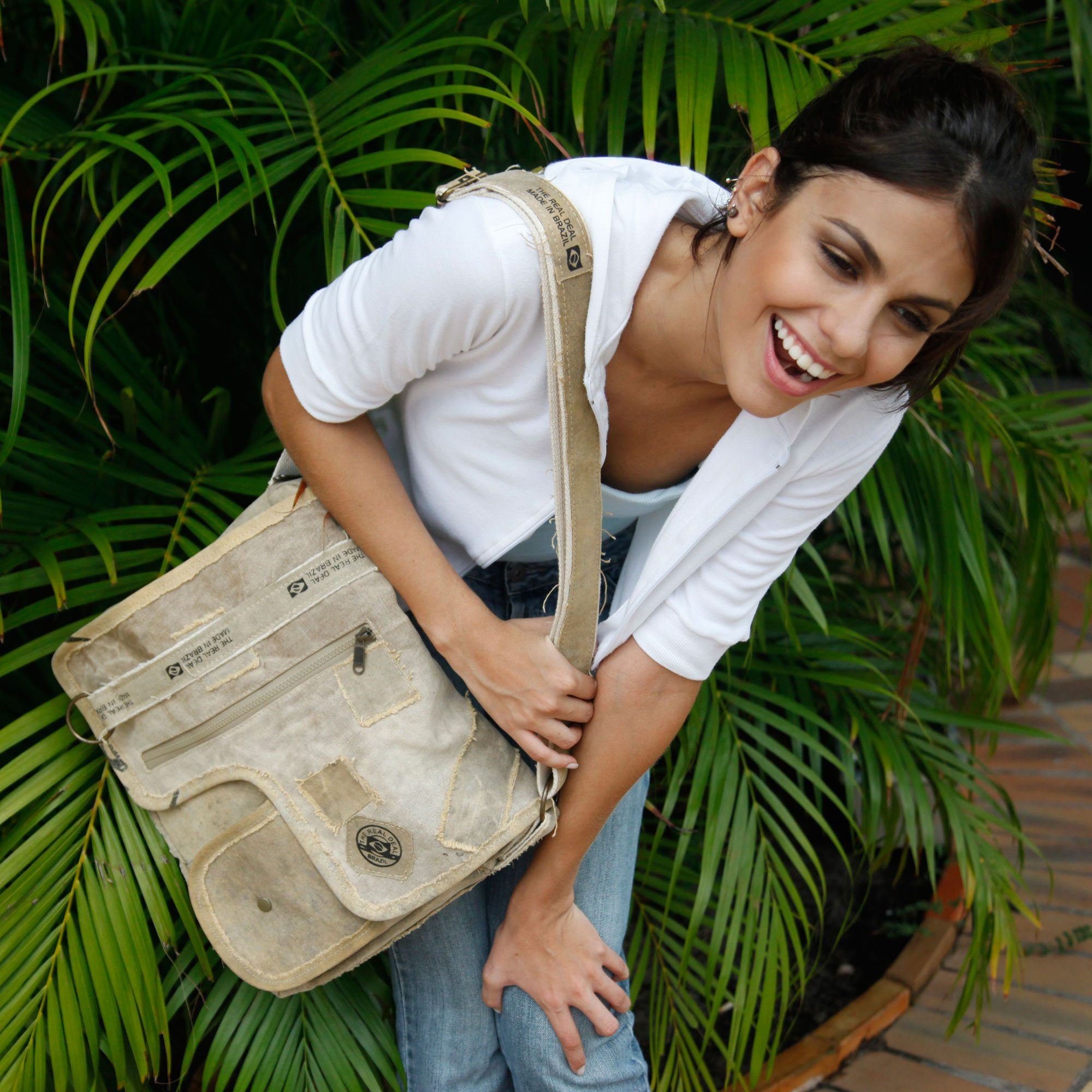 Iguape Messenger Bag by The Real Deal: Made In Brazil