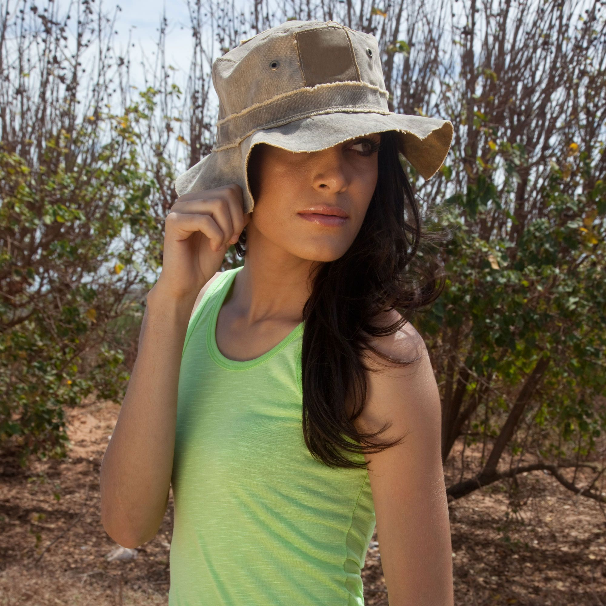 Floppy Travel Hat by The Real Deal: Made In Brazil