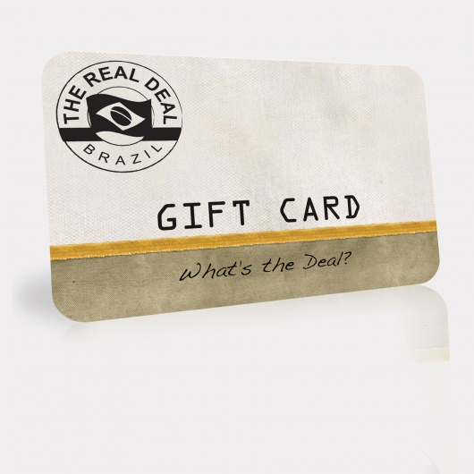 Real Deal Brazil Gift Card