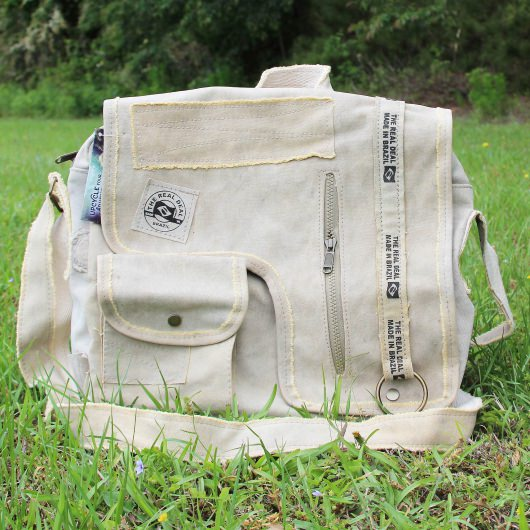 Iguape Messenger Bag - Blanco Edition